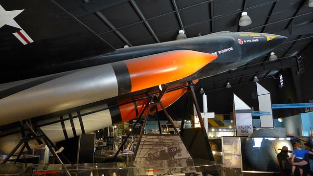 North American X-15A-2 Mockup