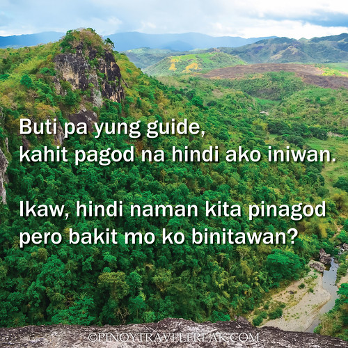 Famous Line Ng Mga Artista : Pinoy travel freak travelhugot lines from travelers