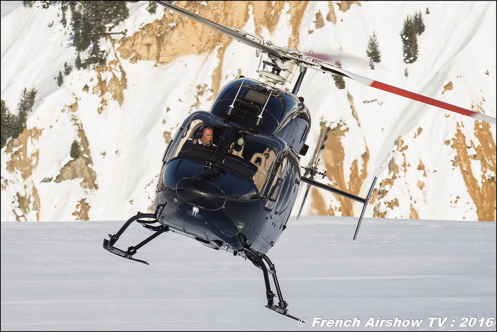 Bell 429 GlobalRanger - F-HPBH - Héli Sécurité , Salon Hélicoptère à Courchevel 2016, Meeting Aerien 2016