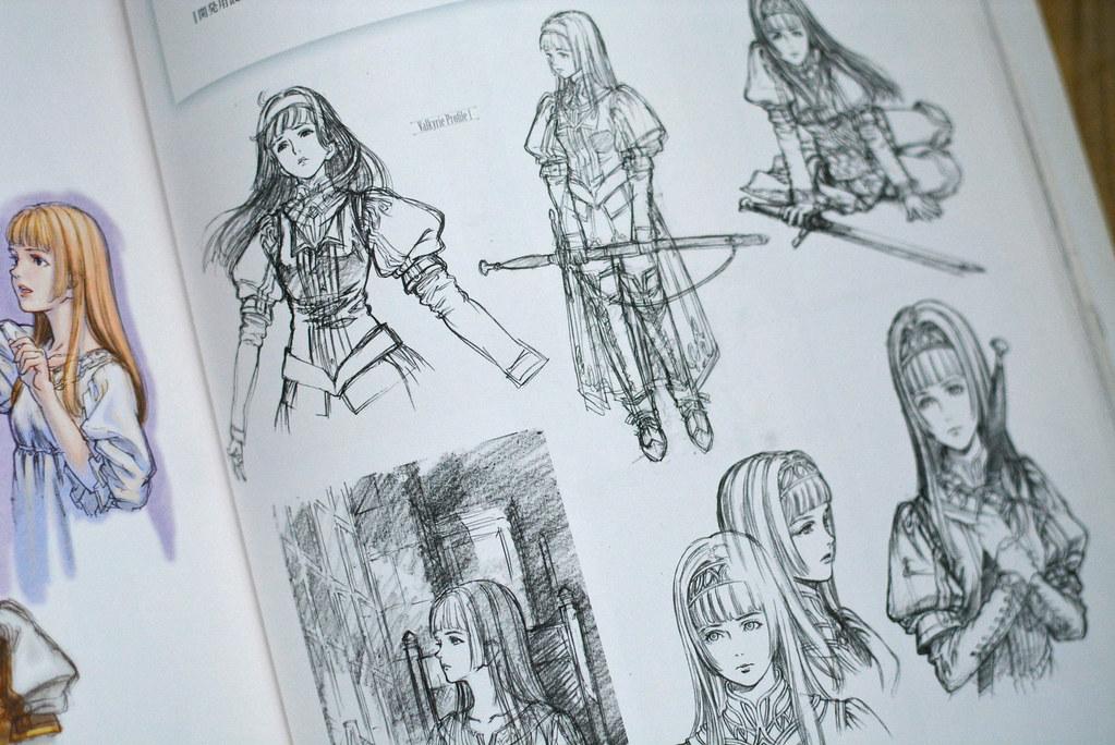 Valkyrie Profile Silmeria Art Book