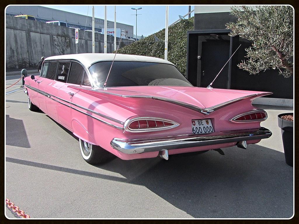 chevrolet impala 1959 stageway limousine oldtimer. Black Bedroom Furniture Sets. Home Design Ideas