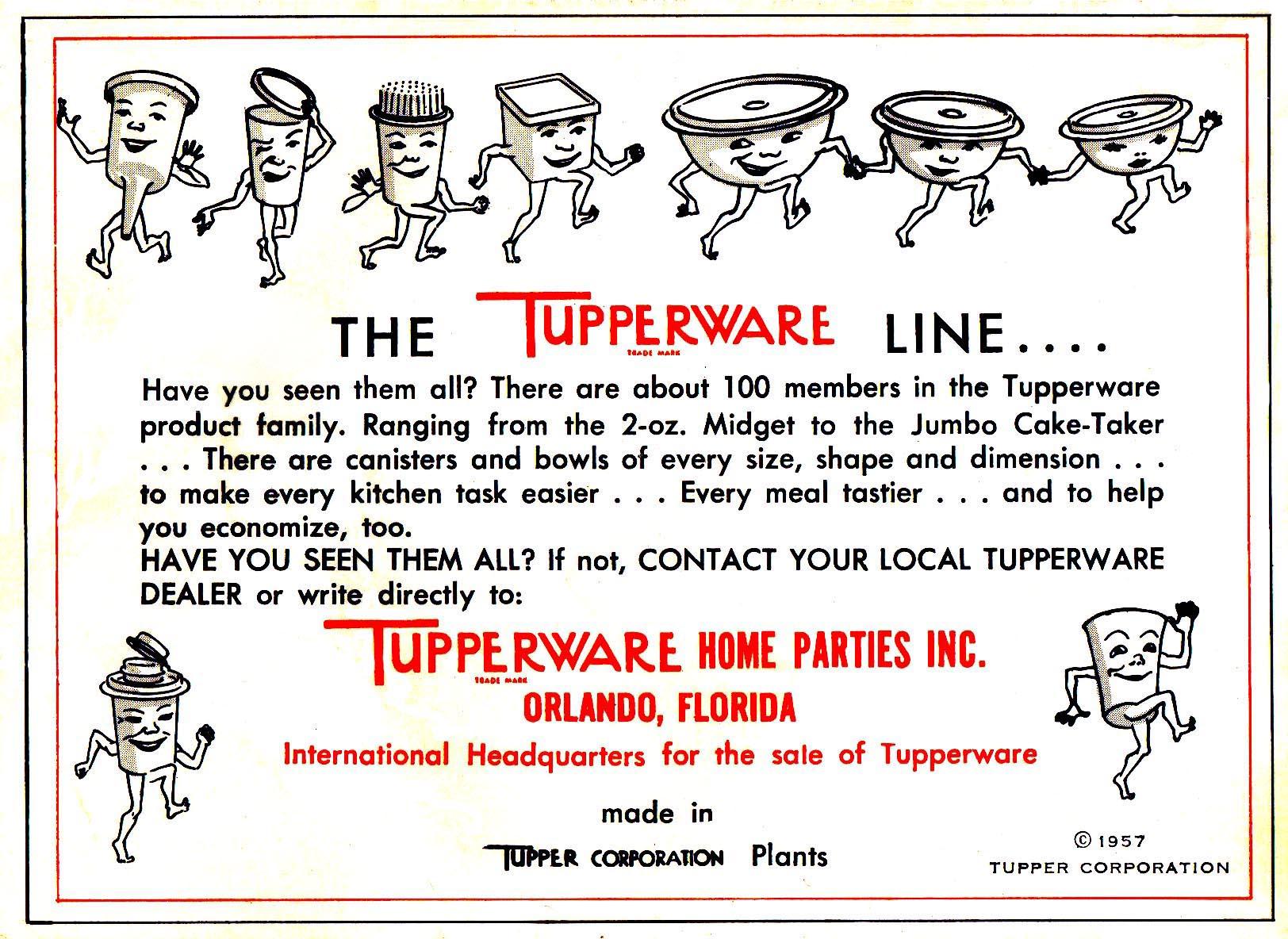 Tupperware - 1957