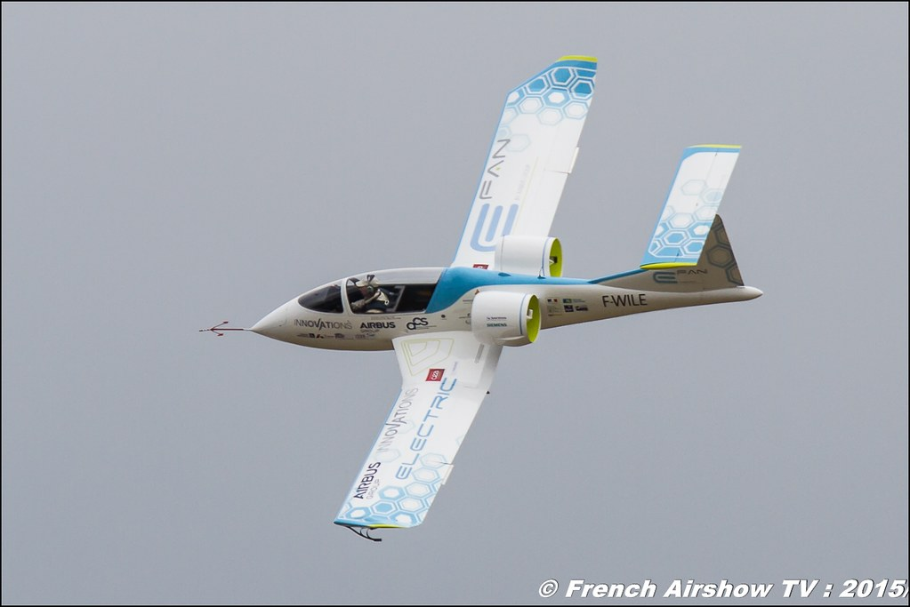 Efan , AIRBUS Group/ ACS/DGAC Innovations, F-WILE, Paris Airshow 2015 , Salon du Bourget 2015 ,lebourget, Meeting Aerien 2015