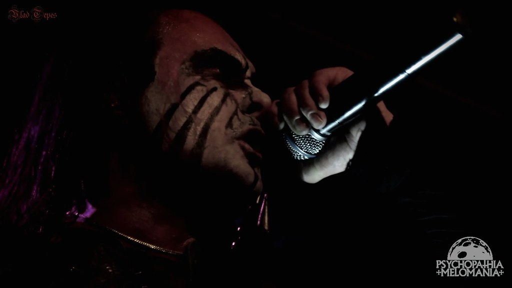 Dani Filth @Cradle of Filth, Trix, Anvers, Belgique 29/10/2015