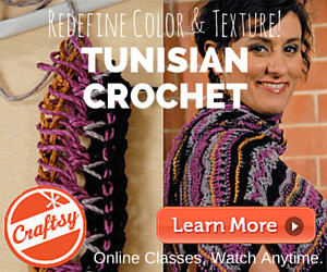 Learn Tunisian Crochet on Craftsy