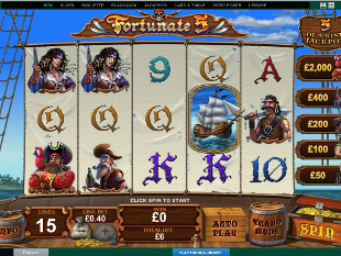 Fortunate 5 slot game online review