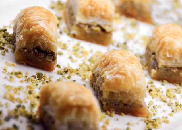 Pastelitos árabes de Doha en Qatar