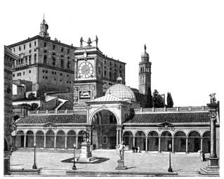 UDINE LOGGIA SAN GIOVANNI E CASTELLO 1891