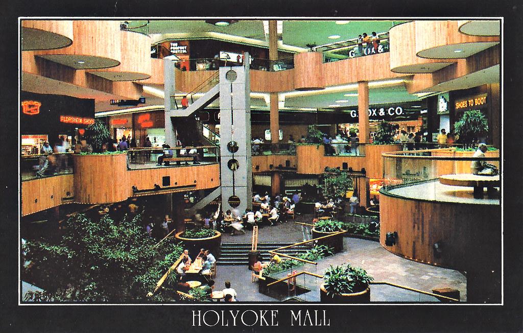 Holyoke Mall At Ingleside Postcard Circa 1979 Quot Holyoke