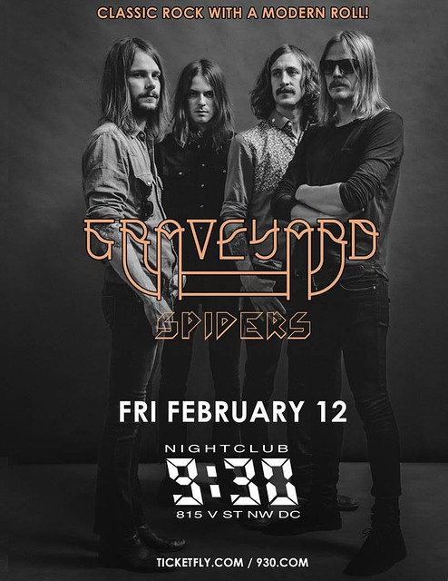 Graveyard at 9:30 Club