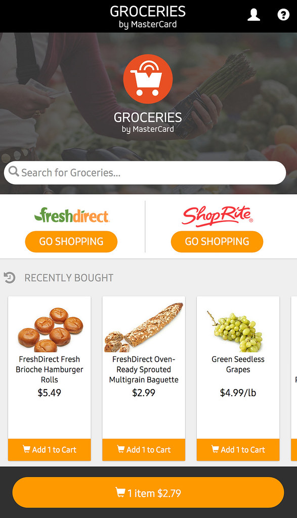 Aplikacija Groceries by MasterCard- resenje koje olaksava svakodnevnu kupovinu