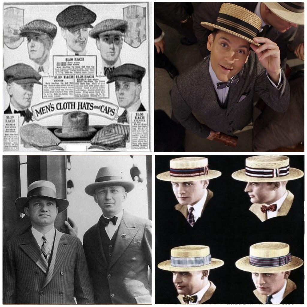 мужские шляпы 20-х годов