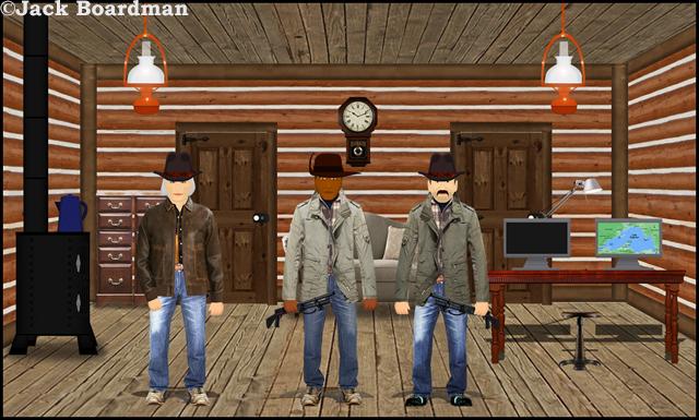 Angry Loner's Cabin ©Jack Boardman