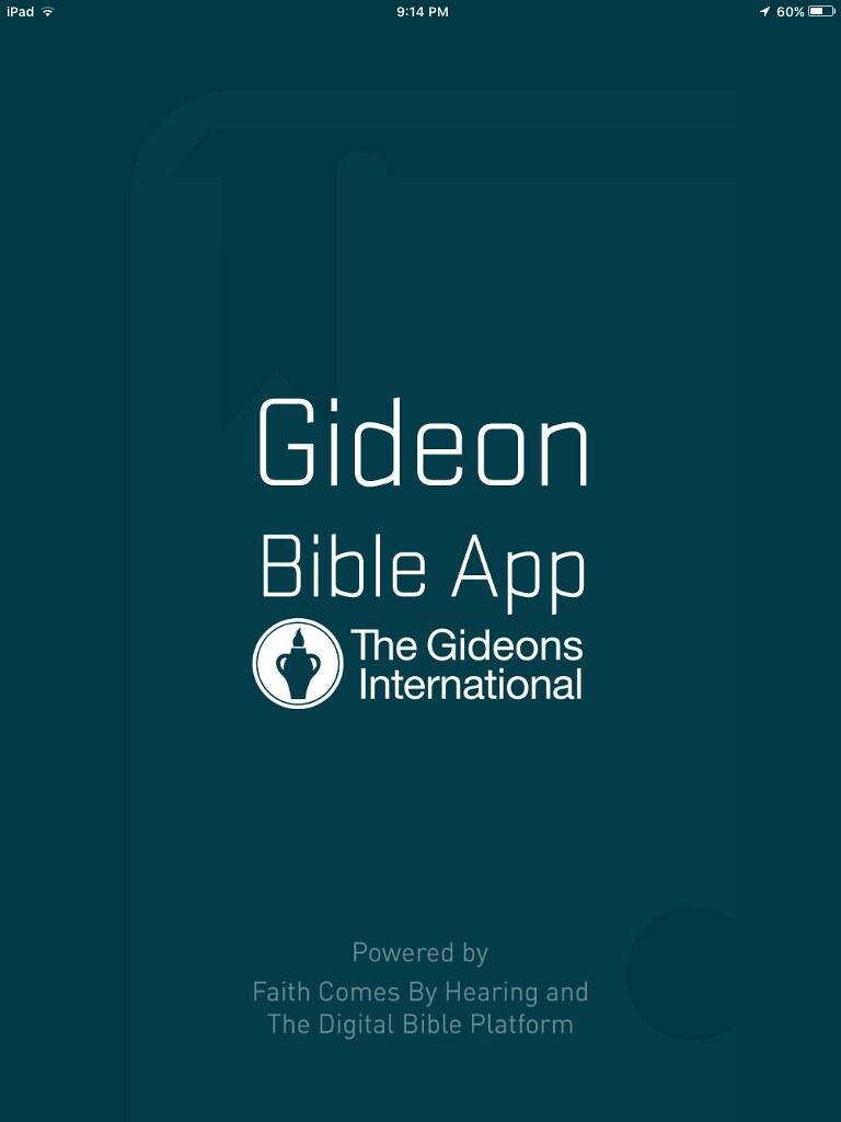 The Gideons International Internet Bible Catalog