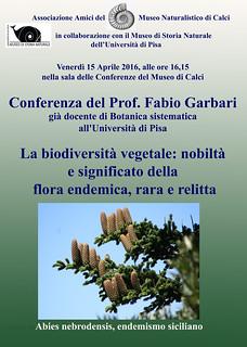 La biodiversità vegetale: nobiltà e significato della flora endemica, rara e relitta