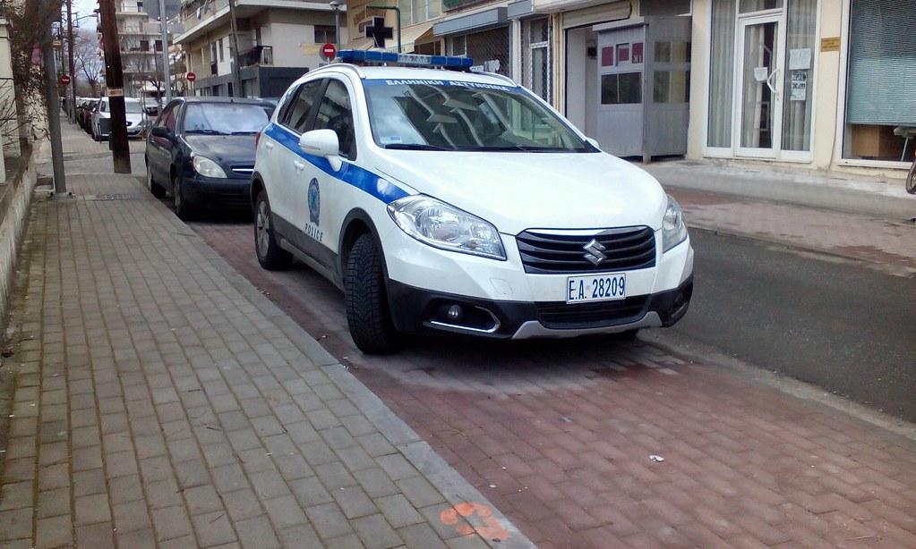 Suzuki s cross police car | john filios | Flickr
