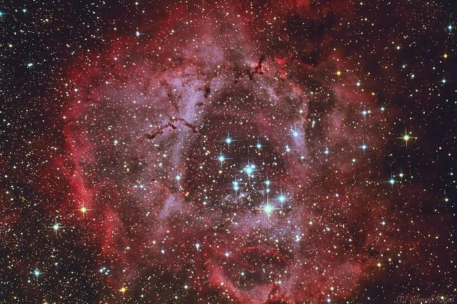 VCSE - Rozetta köd (NGC2237) - Schmall Rafael