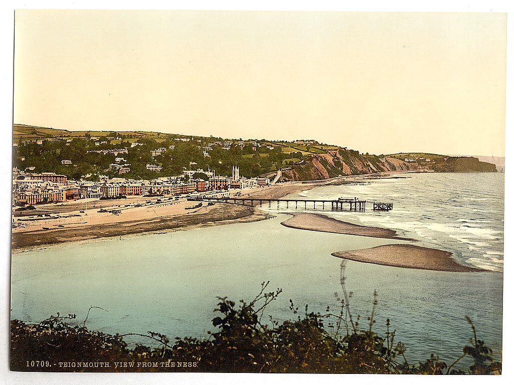 View from the Ness, Teignmouth, Devon
