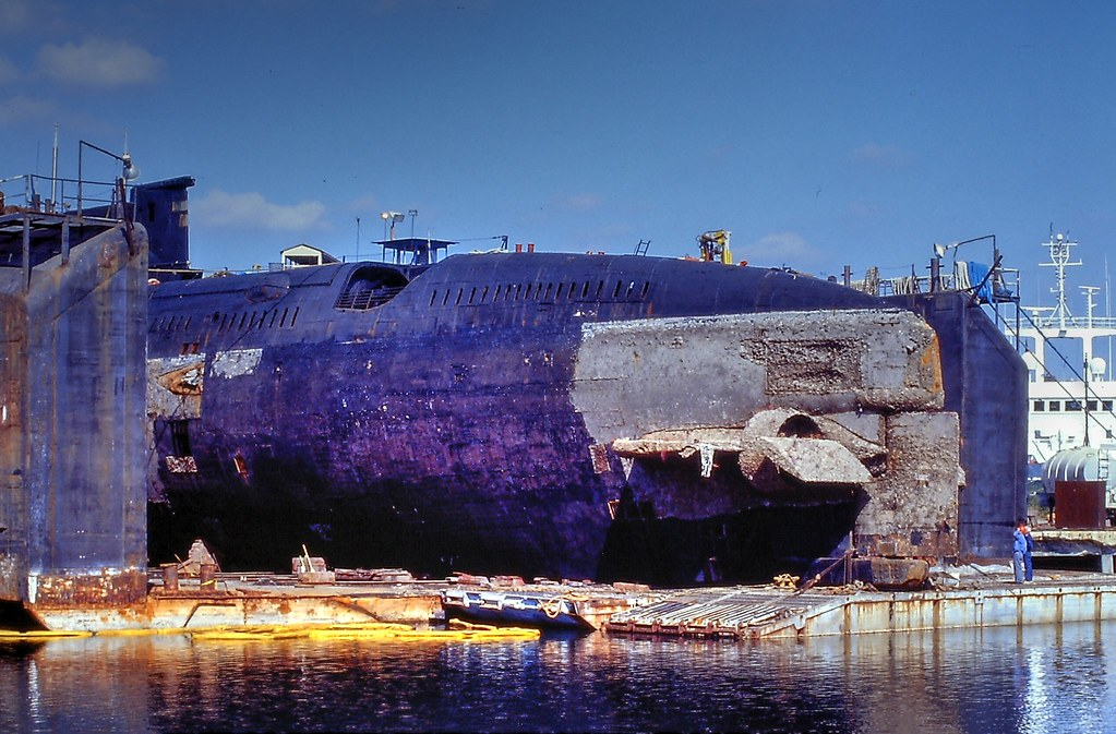 Russian Submarine in D...