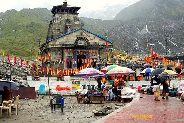 Sri Kedarnath Temple after 2013 Floods