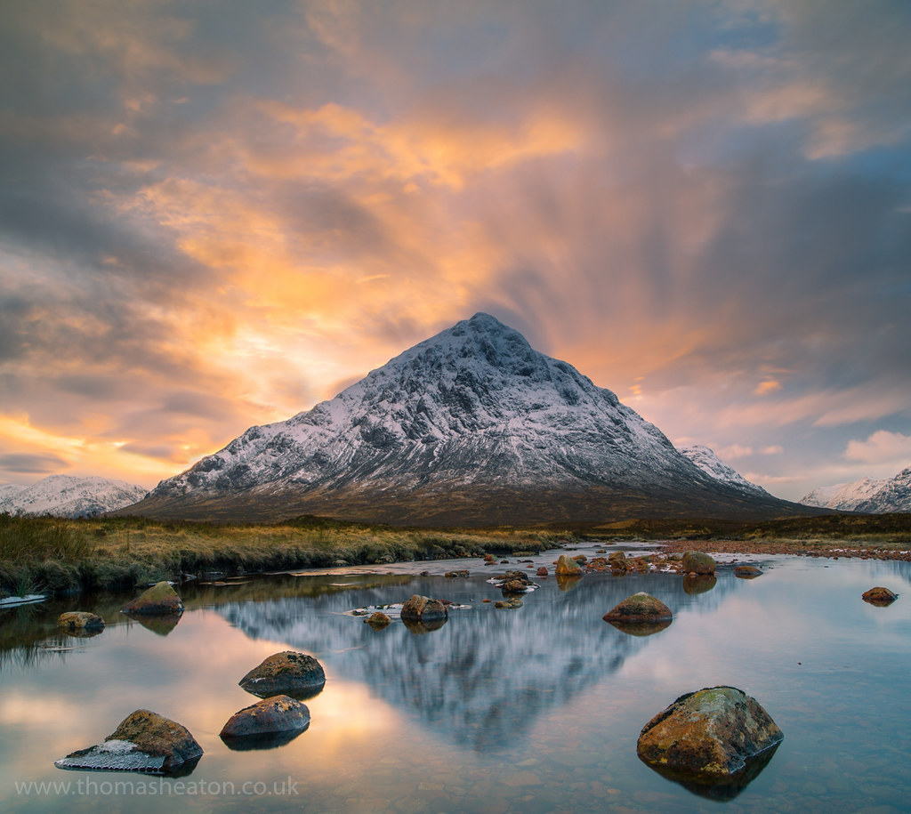 Buachaille Etive M 242 R Sunset Waiting In The Middle Of A