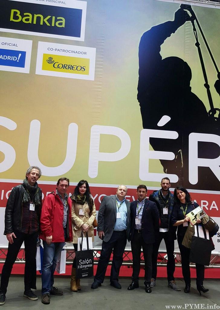 Visita de los emprendedores del vivero de empresas g nesis for Viveros salamanca