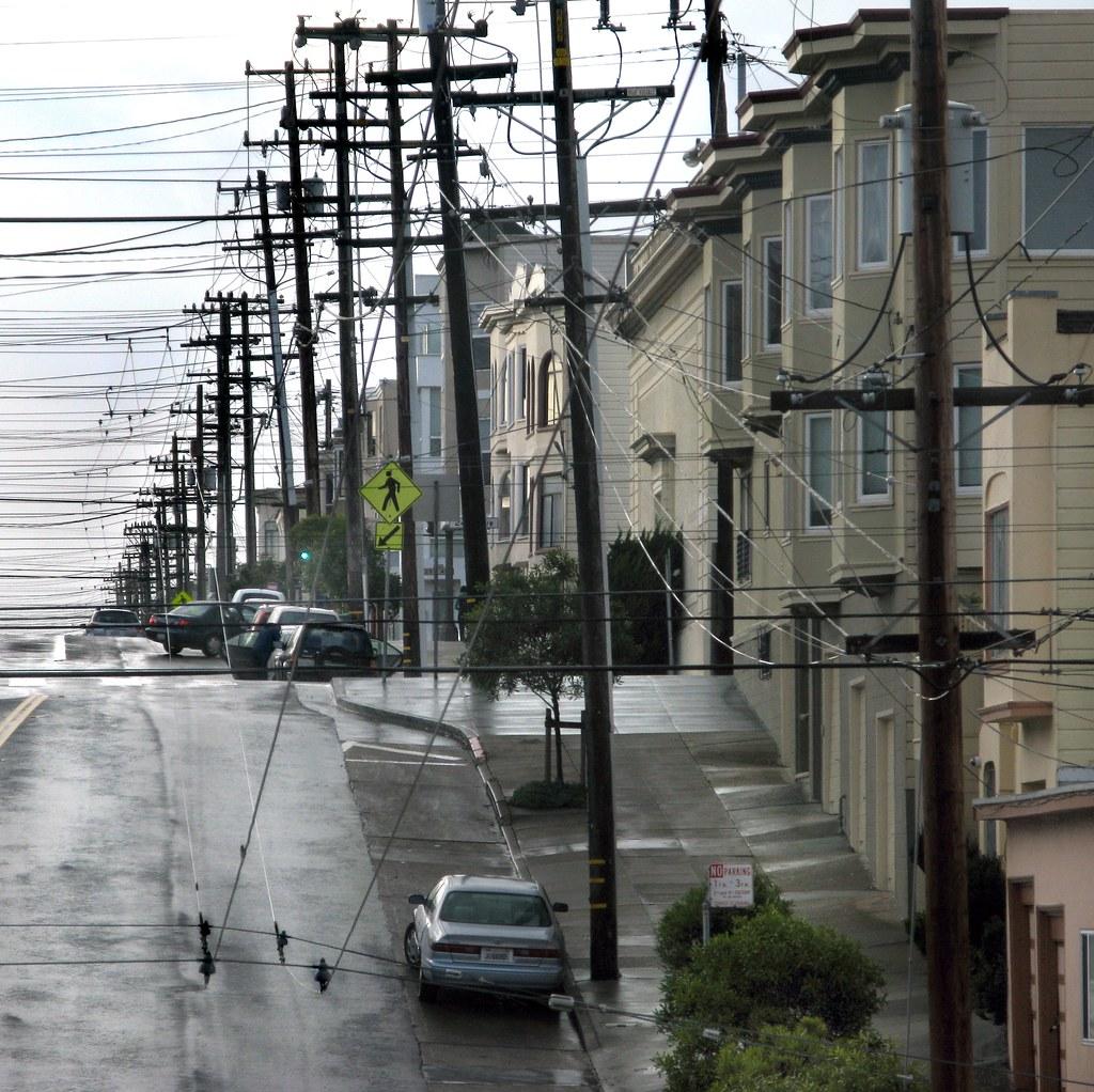 Richmond district San Francisco Above ground