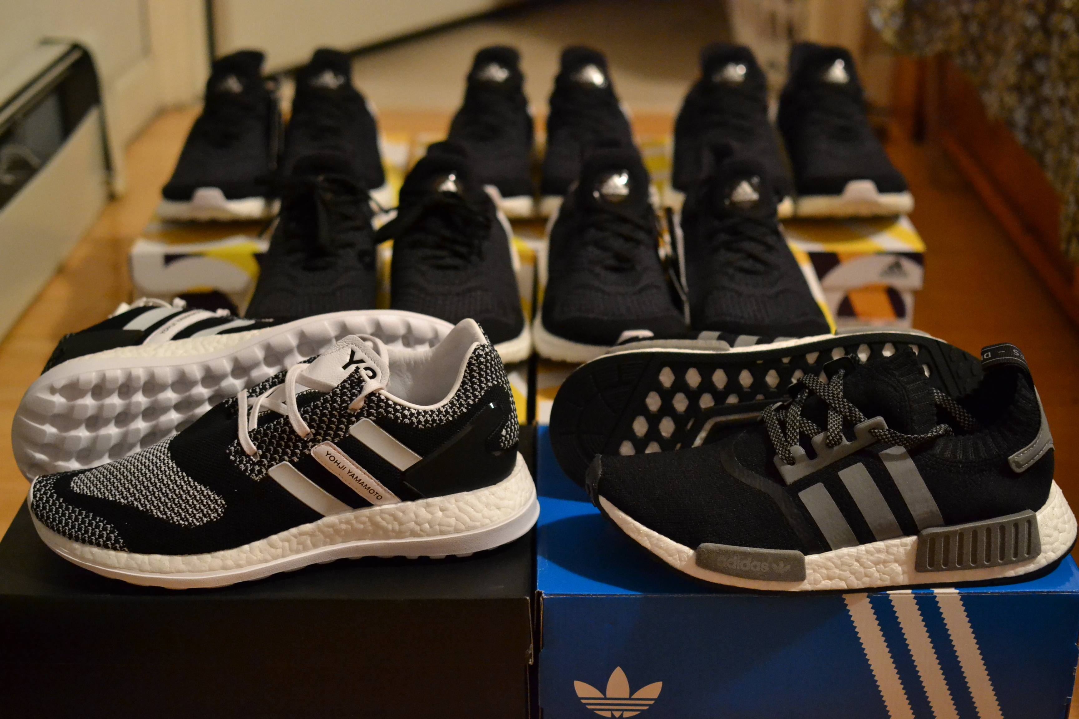 c37006880d7d Today s boost pickups. Adidas Y-3 Pure Boost ZG Knit   NMD Runner PK ...