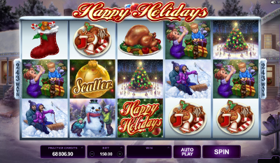 Happy Holidays slot game online review