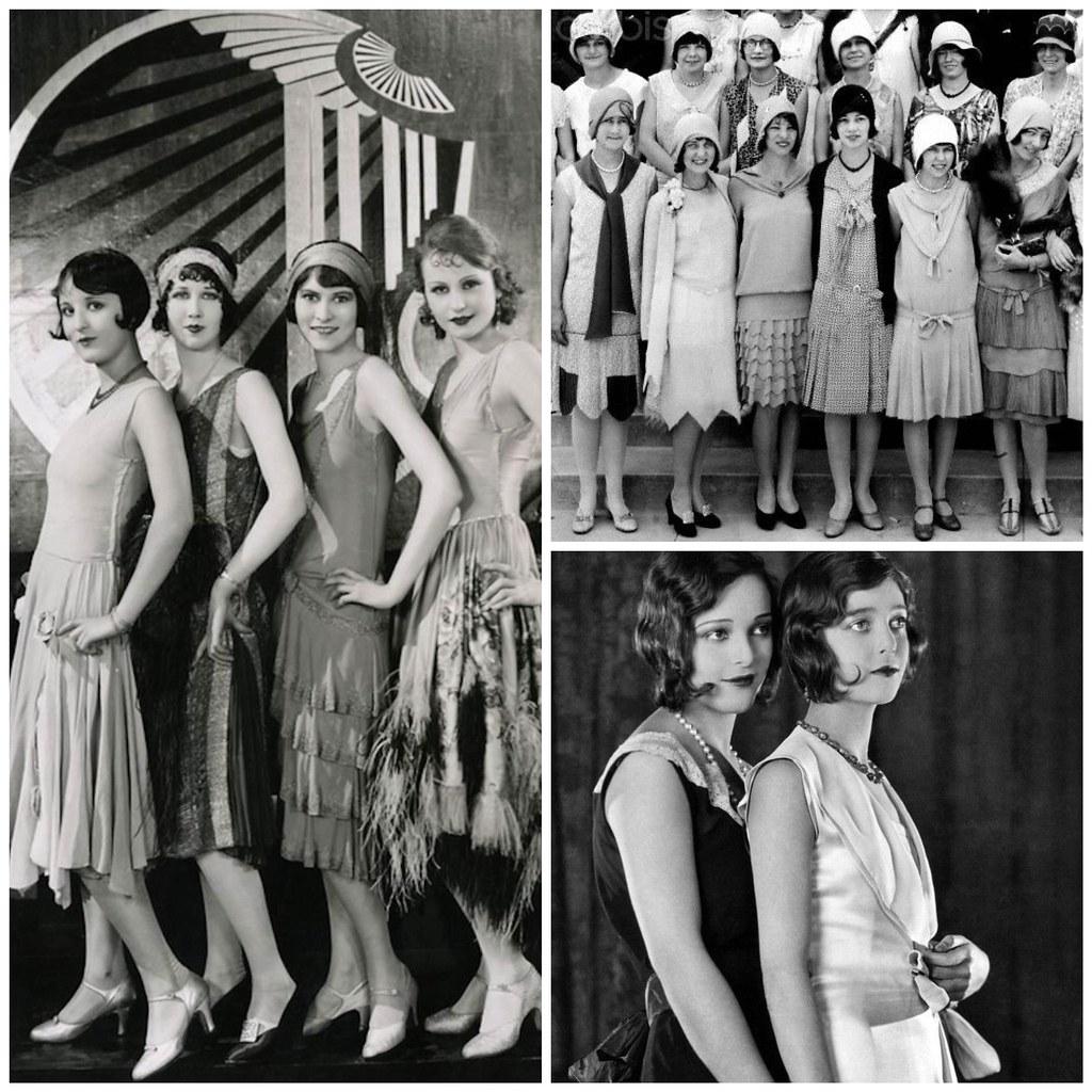 женская мода 20-е