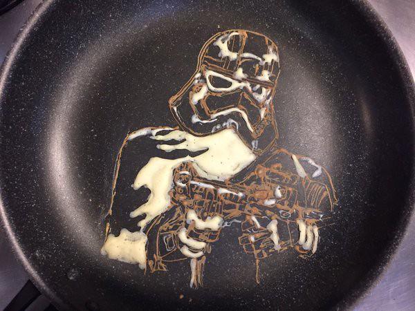 Star Wars The Force Awakens Captain Phasma Pancake