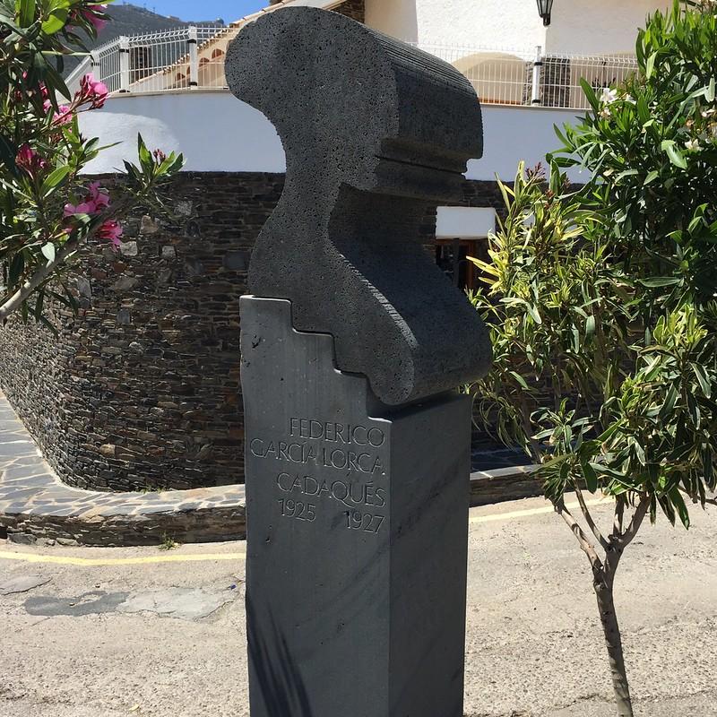 洛尔卡雕塑