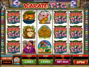 Karate Pig Slot