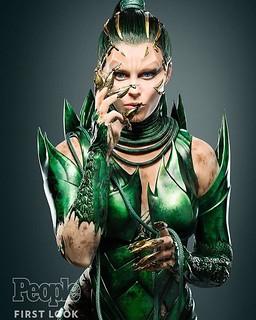 160420 - 超級反派「幽冥女王」新造型公開、真人電影《金剛戰士 Power Rangers》預定2017/3/24上映!【5/7更新】