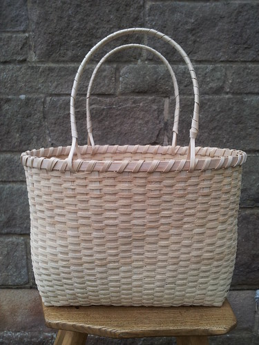 Ash splint shopping basket