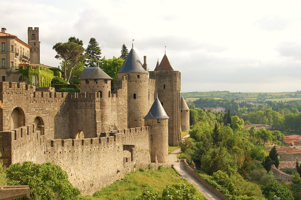 Carcassonne Castle. Photo BrianRS1