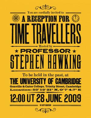 霍金给时间旅行者的请柬