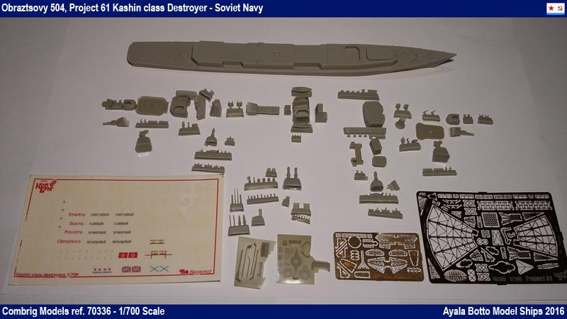 Destroyer Obraztsovy Projet 61 Classe Kashin Combrig 1/700 Marine Soviétique 25823084984_2100e21d71_o