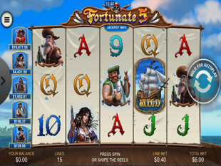 Fortune 5 Mobile slot game online review