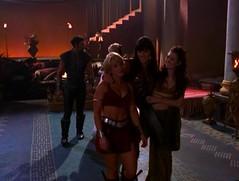 Зена, Габриель, Ева и Арес