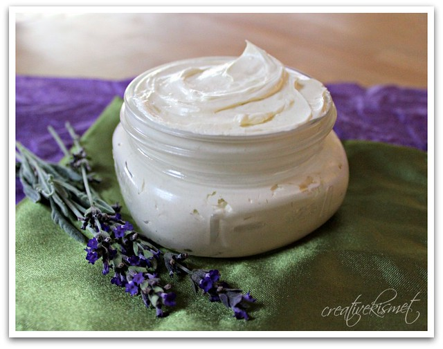 DIY body butter by Creative Kismet