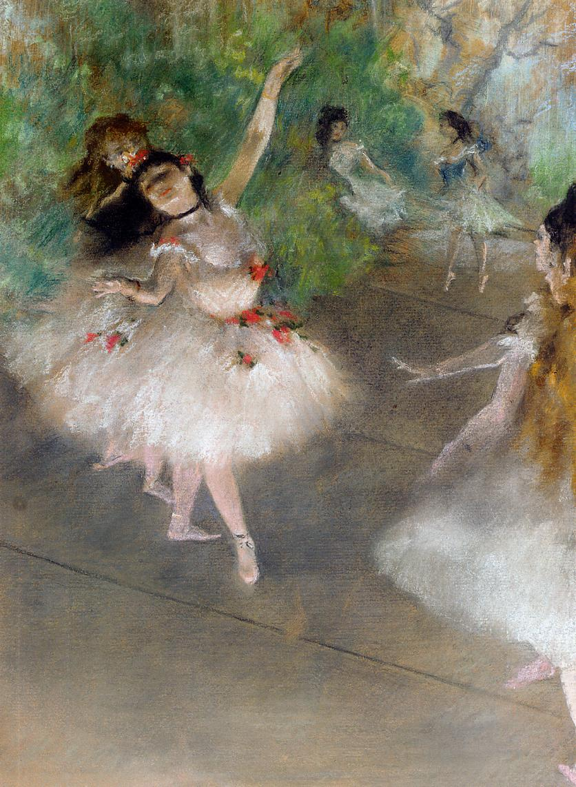 Dancers by Edgar Degas, c.1878
