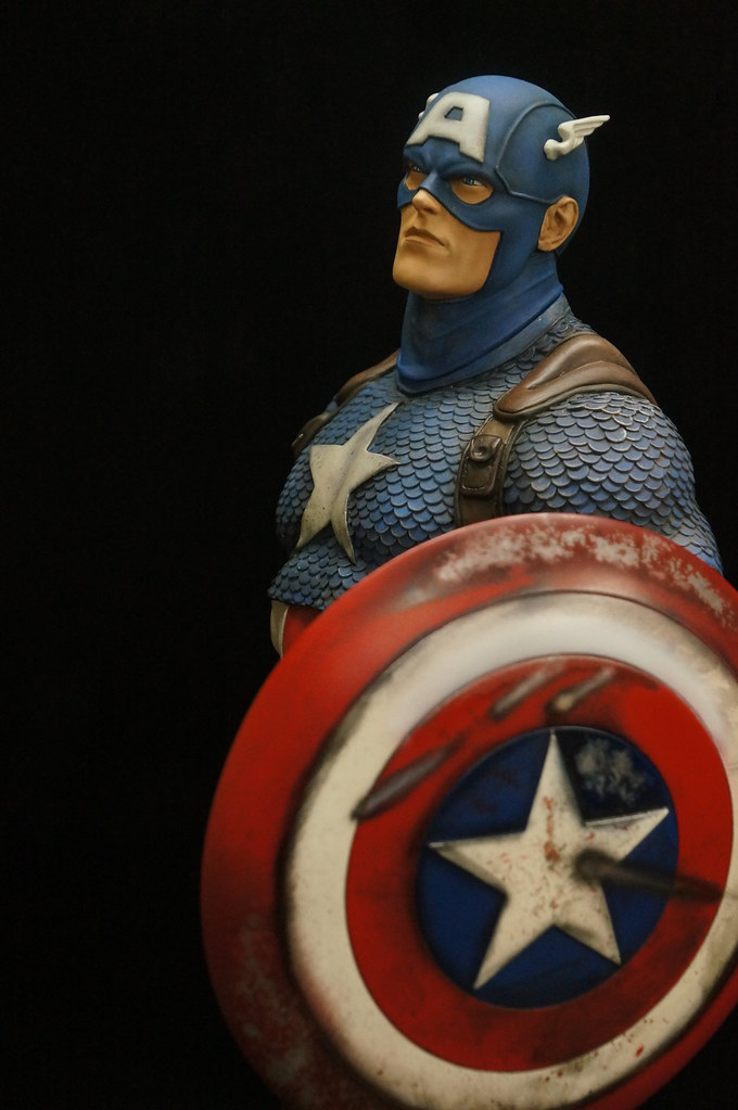 Custom Captain America Premium Format  25508477316_3a1a4f9621_b