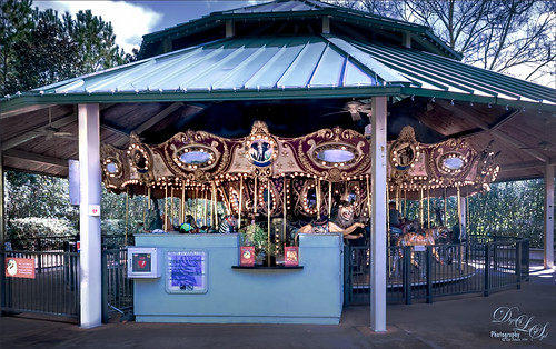 Image of the Carousel at Jacksonville Zoo