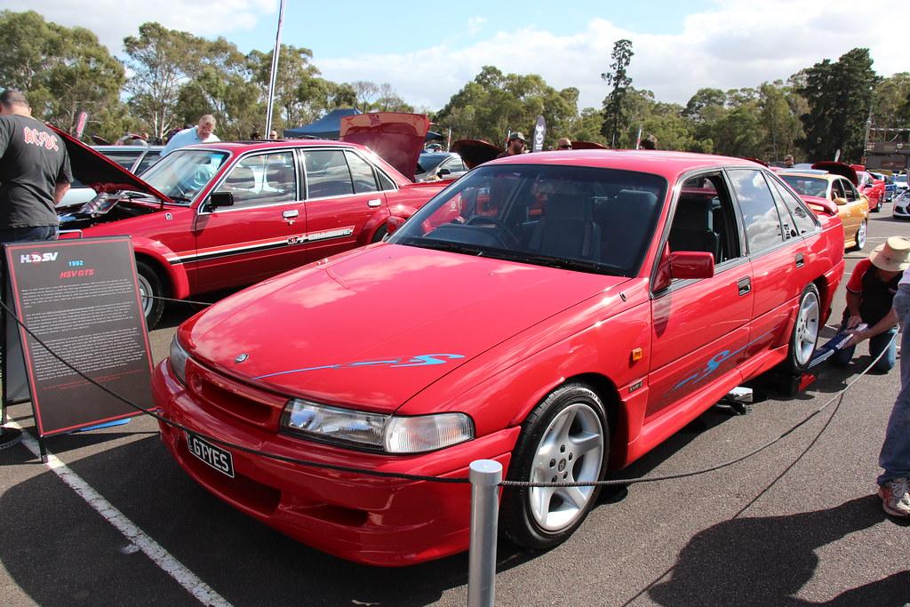 1992 holden hsv vp commodore gts sedan maranello red