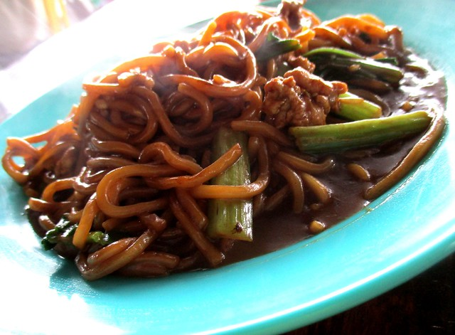 KONG Ma Ma Foochow fried mee, wet