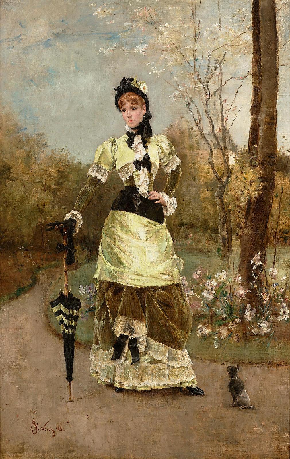 La Parisienne by Alfred Stevens, 1879