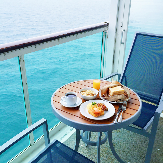 On The 3rd Day We Ordered Room Service For Breakfast Royal Caribbean Cruises Is Free Of Charge Except After Midnight