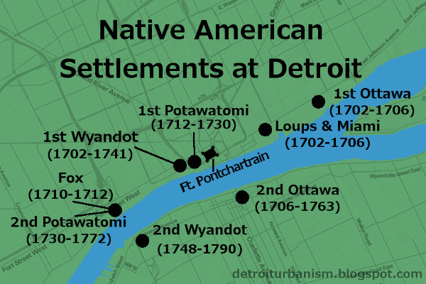 Detroit Urbanism Indian Villages Reservations and Removal