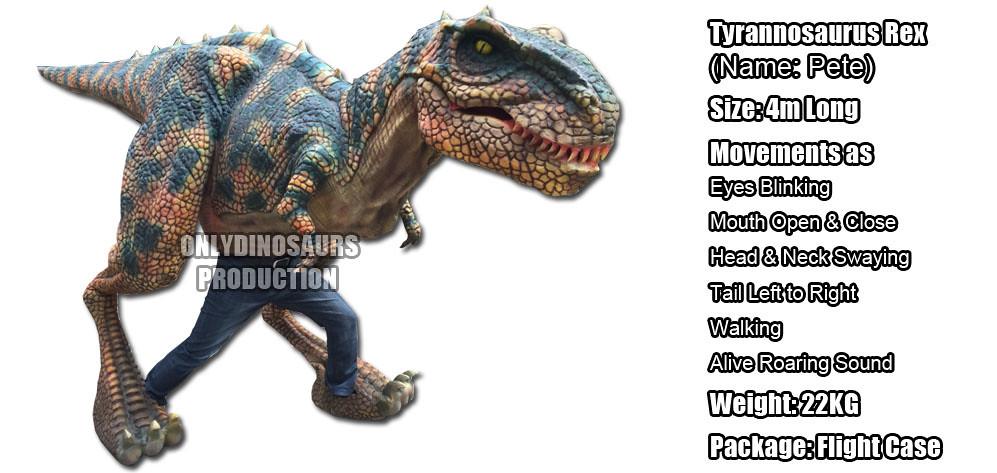 Tyrannosaurus Rex Costume for Rent